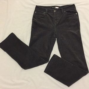 Pants - Focus Black corduroy straight legs pants